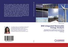 BIM integrated Renewable Energy Analysis的封面