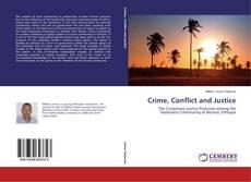 Capa do livro de Crime, Conflict and Justice