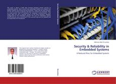 Capa do livro de Security & Reliability in Embedded Systems