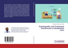 Buchcover von Psychopathy and Treatment Interference in Residential Care