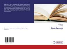Sleep Apnoea kitap kapağı