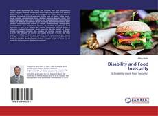 Bookcover of Disability and Food Insecurity