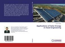 Applications of Solar Energy in Food Engineering kitap kapağı