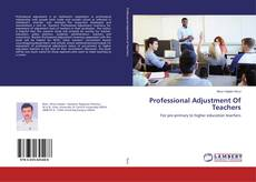 Buchcover von Professional Adjustment Of Teachers