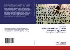 Bookcover of Nonlinear Fractional Order Differential Equations