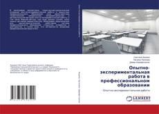 Bookcover of Опытно-экспериментальная работа в профессиональном образовании