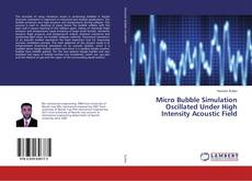 Bookcover of Micro Bubble Simulation Oscillated Under High Intensity Acoustic Field