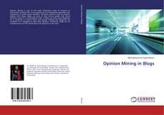 Buchcover von Opinion Mining in Blogs