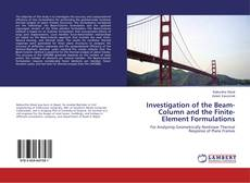 Copertina di Investigation of the Beam-Column and the Finite-Element Formulations