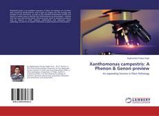 Bookcover of Xanthomonas campestris: A Phenon & Genon preview