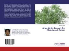 Capa do livro de Artemisinin: Remedy for Malaria and Cancer