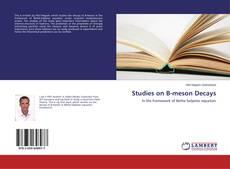Couverture de Studies on B-meson Decays