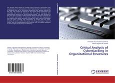 Buchcover von Critical Analysis of Cyberslacking in Organizational Structures