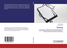 Bookcover of Privacy