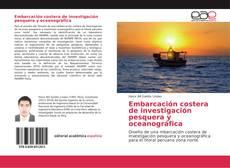 Portada del libro de Embarcación costera de investigación pesquera y oceanográfica