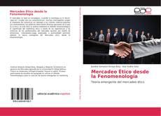 Buchcover von Mercadeo Ético desde la Fenomenología