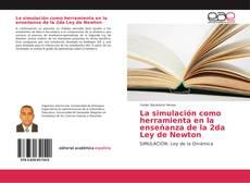 Portada del libro de La simulación como herramienta en la enseñanza de la 2da Ley de Newton