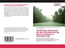 Bookcover of Condición artesanal de deshidratación de Carica papaya L. Maradol roja
