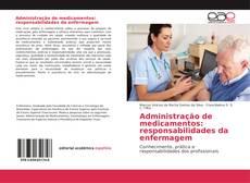 Capa do livro de Administração de medicamentos: responsabilidades da enfermagem