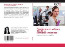 Portada del libro de Formación en valores desde la semipresencialidad