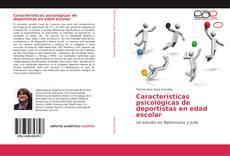 Copertina di Características psicológicas de deportistas en edad escolar