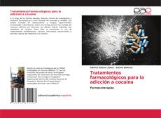 Capa do livro de Tratamientos farmacológicos para la adicción a cocaína