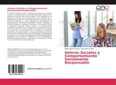 Portada del libro de Valores Sociales y Comportamiento Socialmente Responsable