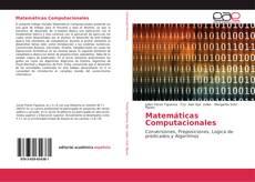 Buchcover von Matemáticas Computacionales