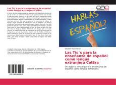 Portada del libro de Las Tic´s para la enseñanza de español como lengua extranjera ColBra