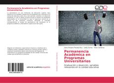 Bookcover of Permanencia Académica en Programas Universitarios