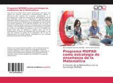 Capa do livro de Programa MUPAD como estrategia de enseñanza de la Matemática