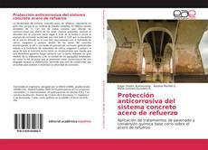 Protección anticorrosiva del sistema concreto acero de refuerzo kitap kapağı