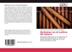 Bookcover of Quitomax en el cultivo de tabaco