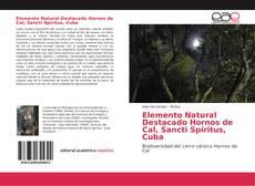 Elemento Natural Destacado Hornos de Cal, Sancti Spíritus, Cuba的封面
