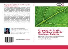 Bookcover of Propagación In Vitro de Frutilla a partir de Secciones Foliares