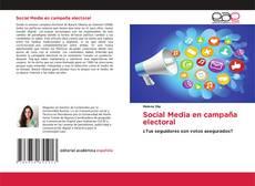Обложка Social Media en campaña electoral