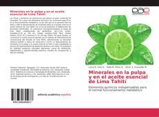 Capa do livro de Minerales en la pulpa y en el aceite esencial de Lima Tahití