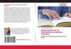 Buchcover von Repercusión de la formación en adultos mayores