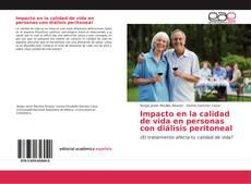 Portada del libro de Impacto en la calidad de vida en personas con diálisis peritoneal