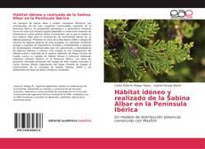 Обложка Hábitat idóneo y realizado de la Sabina Albar en la Península Ibérica