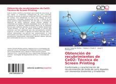 Bookcover of Obtención de recubrimientos de CeO2: Técnica de Screen Printing