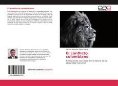 Portada del libro de El conflicto colombiano