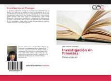 Bookcover of Investigación en Finanzas