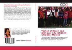 Copertina di Tsotsil children and bilingual education in Chiapas, Mexico