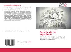 Capa do livro de Estudio de re-ingeniería