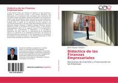 Bookcover of Didáctica de las Finanzas Empresariales