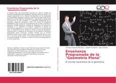 "Capa do livro de Enseñanza Programada de la ""Geometría Plana"""