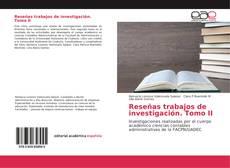 Copertina di Reseñas trabajos de investigación. Tomo II
