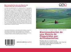Copertina di Biorremediación de una Mezcla de Plaguicidas por Actinobacterias