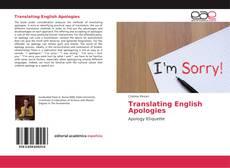 Capa do livro de Translating English Apologies